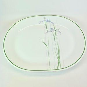 Corelle Shadow Iris Serving Platter 12 x 10